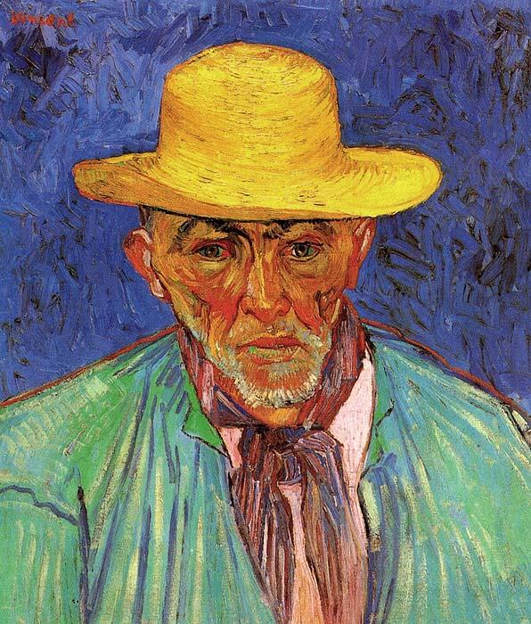 Van Gogh Paintings Patience Escalier