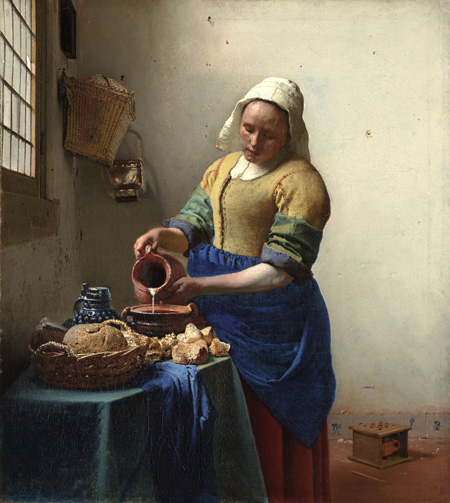 Vermeer-paintings-kitchen-maid