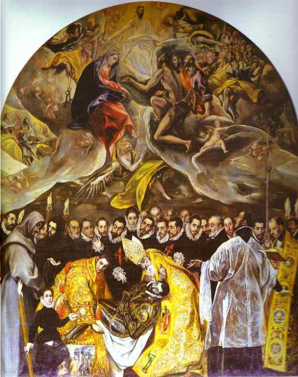 an analysis of the painting burial of count orgaz by el greco domenikos theotocopoulos The burial of the count of orgaz is a painting by el greco, a painter, sculptor, and architect of the spanish renaissance widely considered among his finest works, it illustrates a popular local legend of his time.