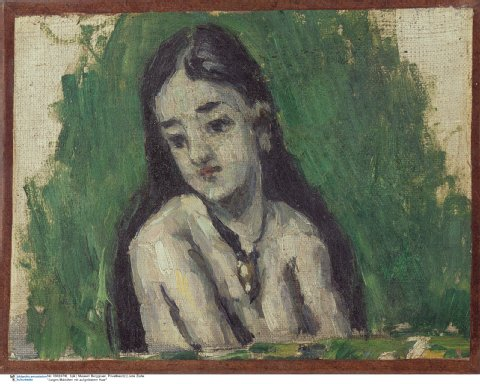 Cezanne-paintings-Young-Woman-Loosened-Hair