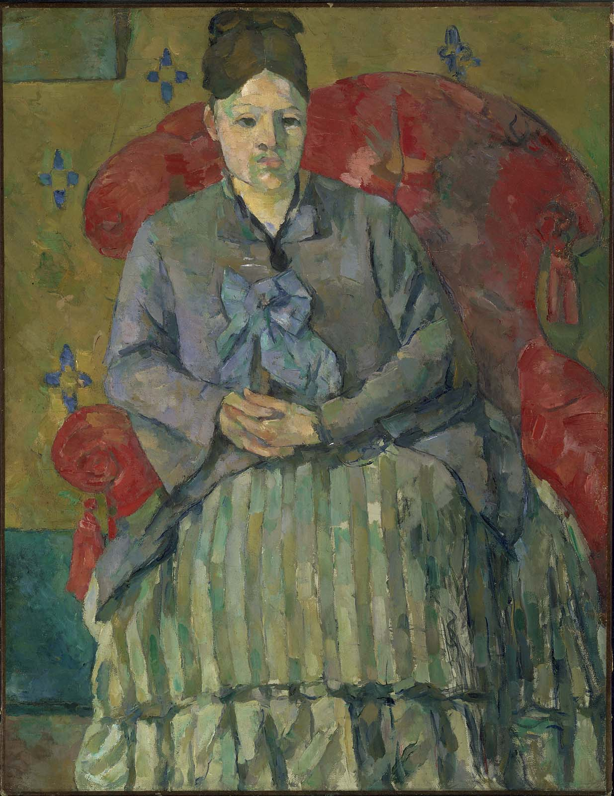 Cezanne-paintings-Madame-Cezanne-in-Red-Armchair