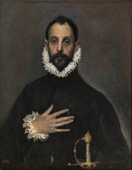 El_Greco_paintings-nobleman-hand-chest