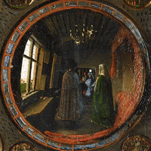 Famous Paintings Arnolfini Portrait