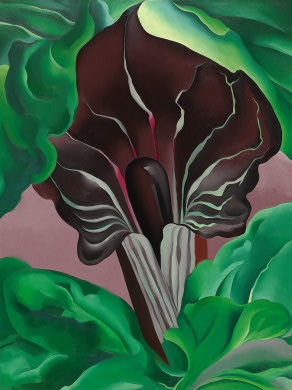 o'keeffe famous paintings