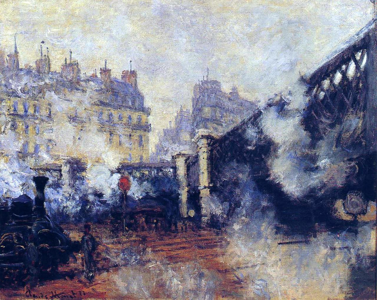 Monet-paintings-Pont-de-leurope