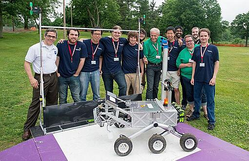 West Virginia University Used Humatics Hardware To Help Win The NASA Sample Return Robot Challenge