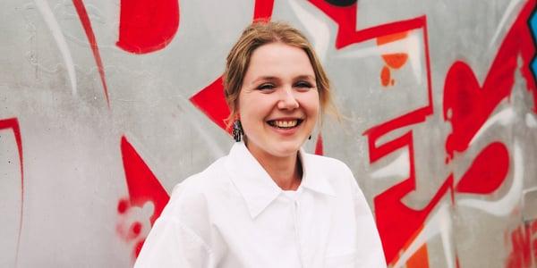 Kate Streader smiling