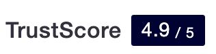 TrustScore 4,9 sur 5 !
