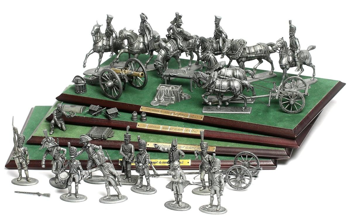 figurines napoleon - entreprise résiliente