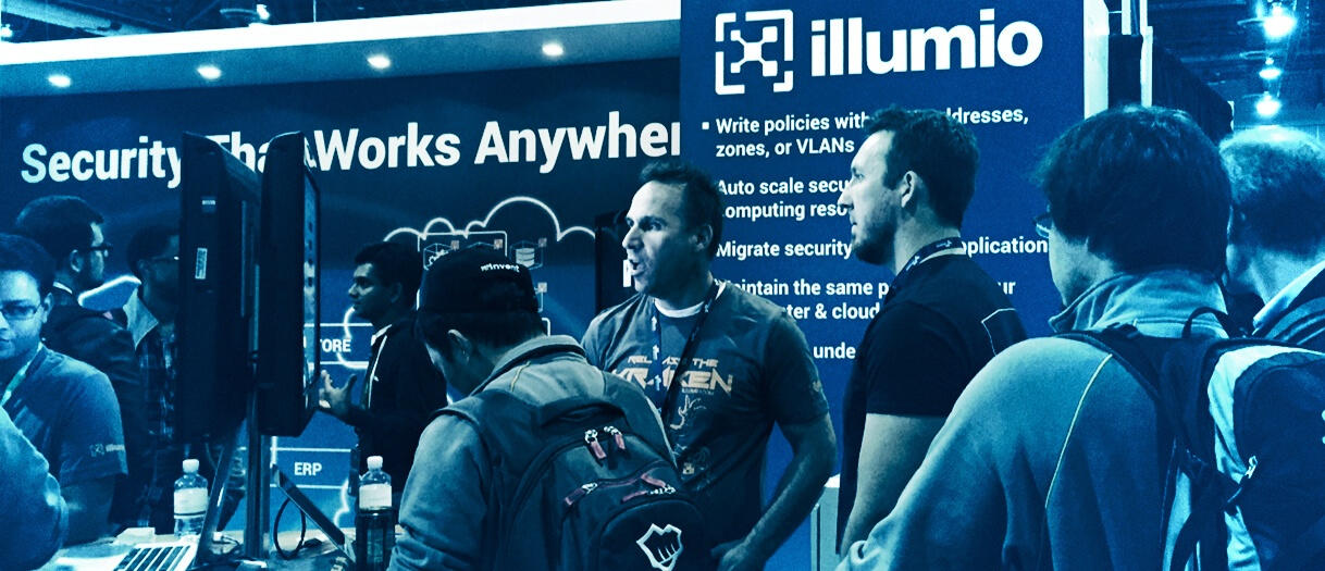 The Illumio booth at AWS re:Invent 2014