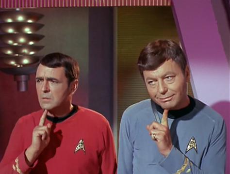 Star Trek - Kirk and Scotty