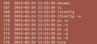 Time format screenshot