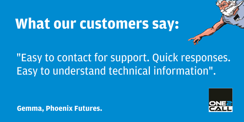 ONe2Call Testimonial from Gemma at Poenix Futures
