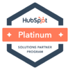 HubSpot Solutions Platinum Partner