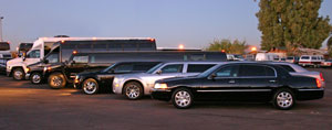 Arizona limo to concert