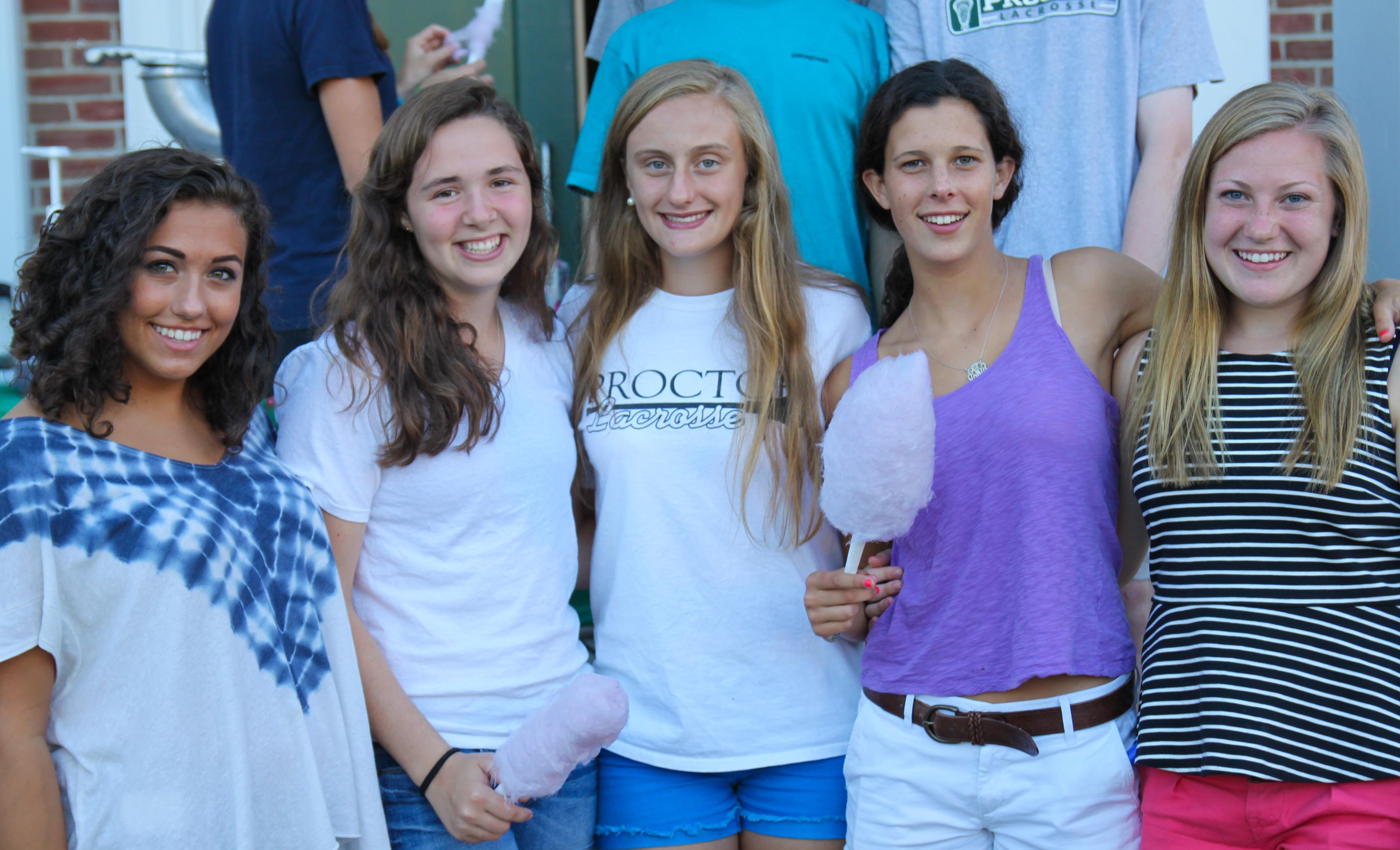 Proctor Academy students back