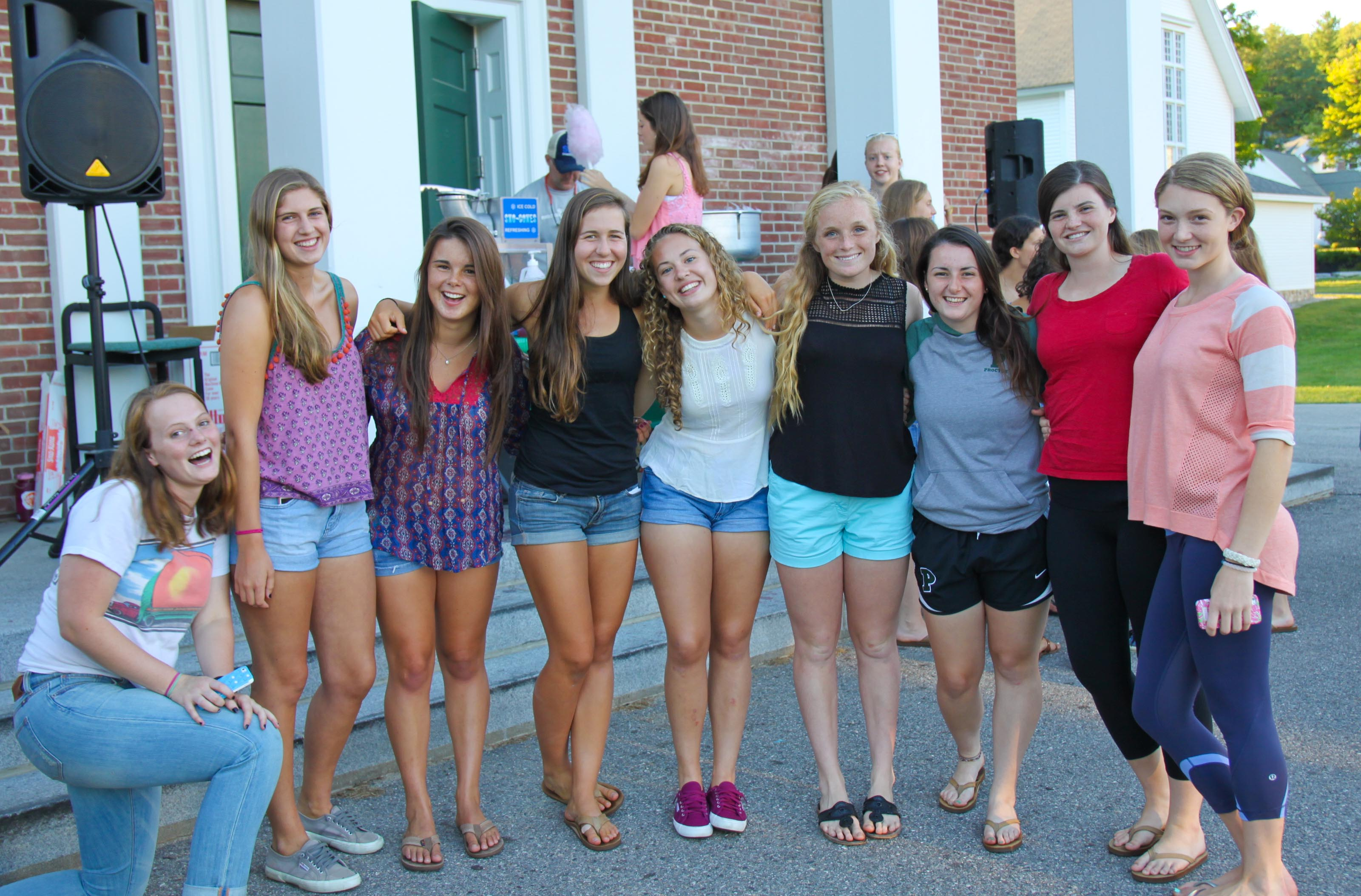 Proctor Academy students are back