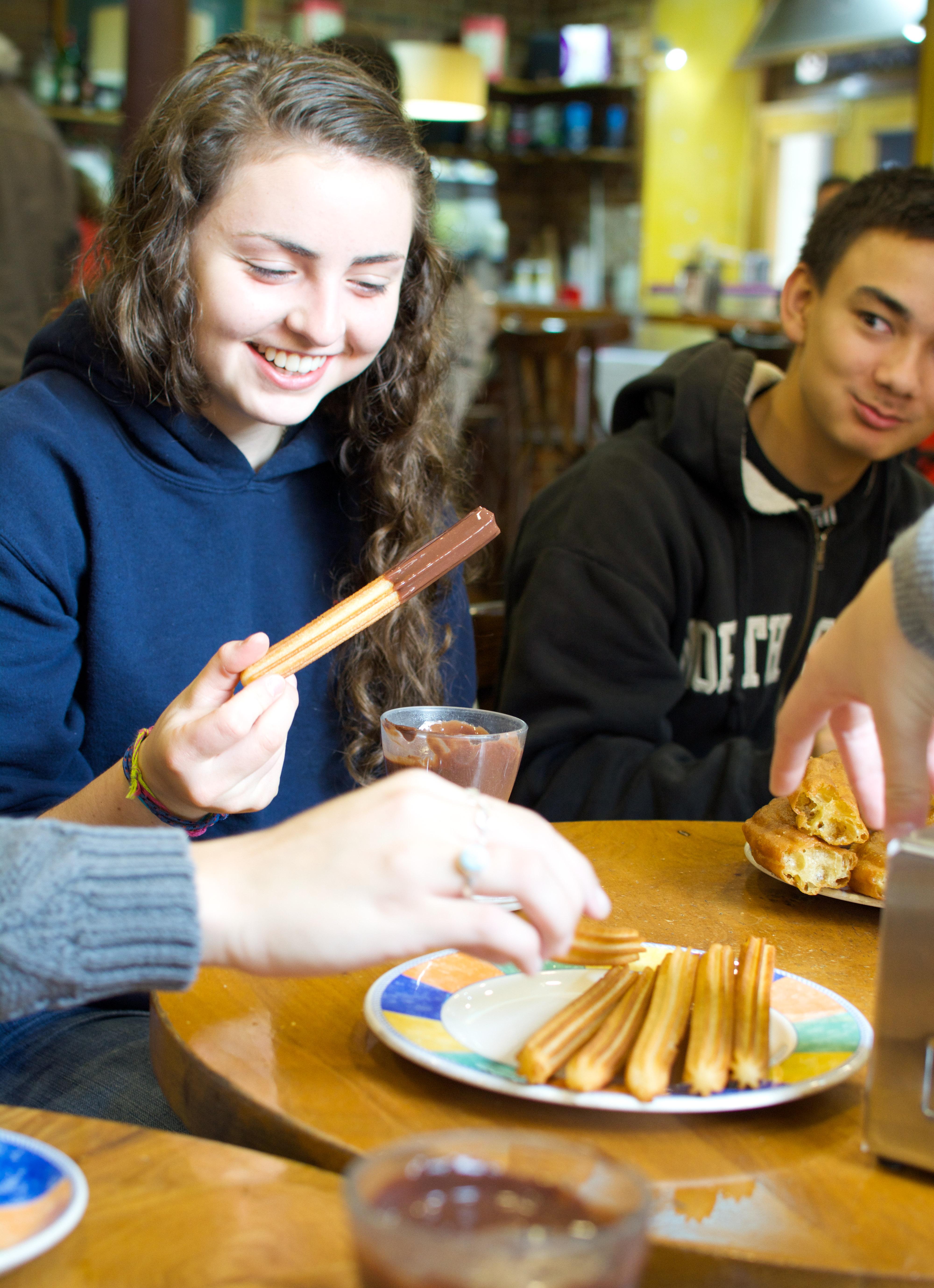 Proctor en Segovia student birthday!