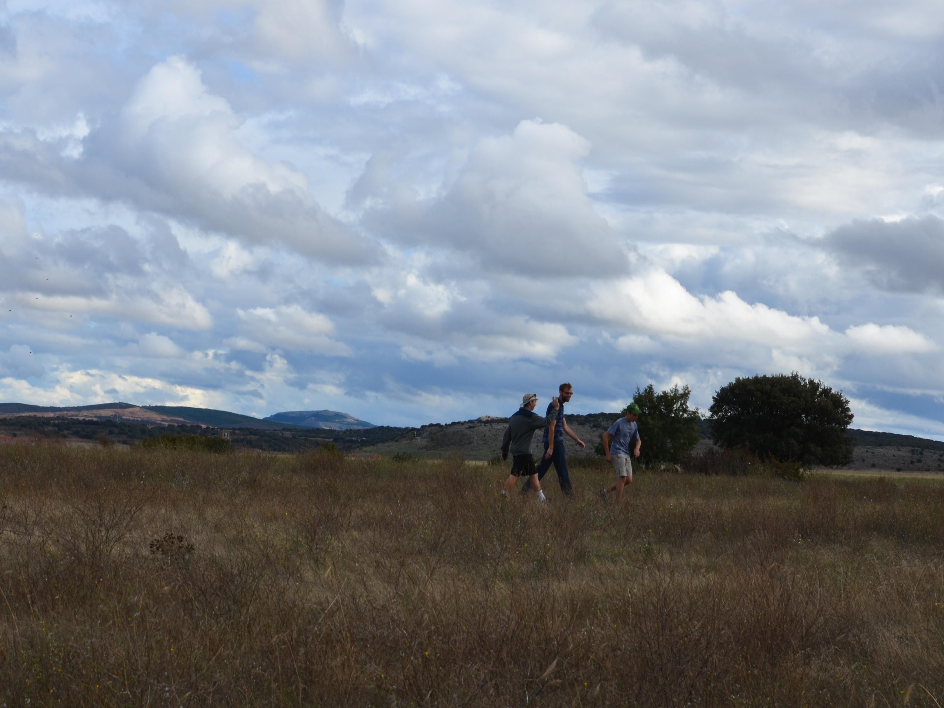 Proctor en Segovia visits wind farm experiential education