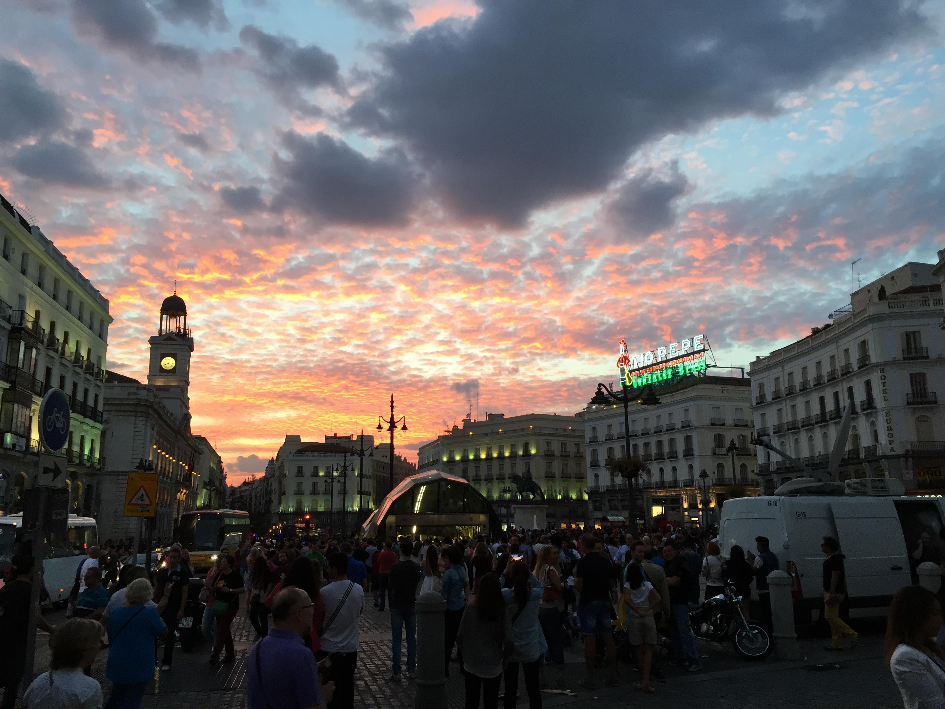 Proctor en Segovia students travel to Madrid