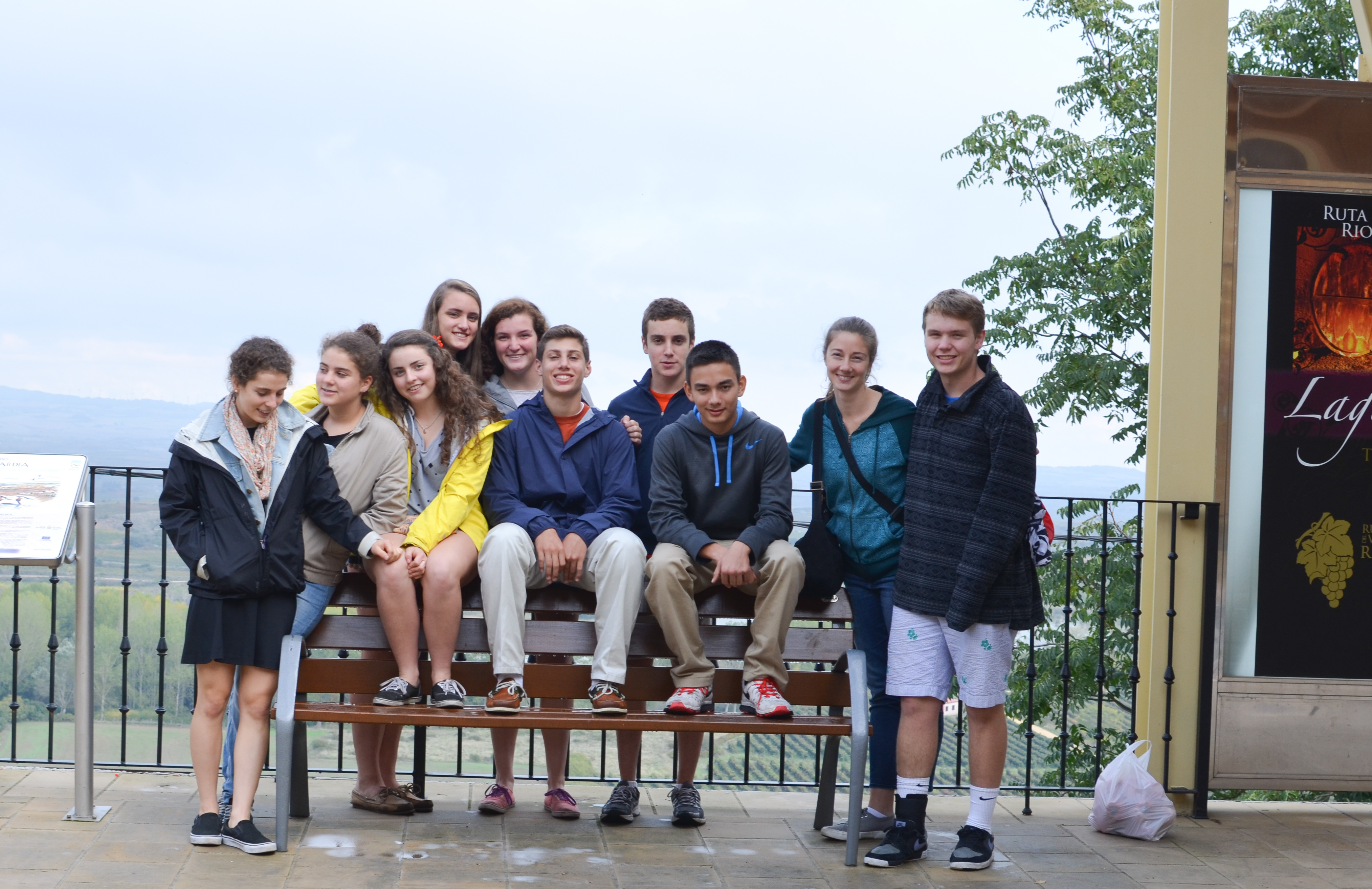 Proctor en Segovia students travel to La Rioja
