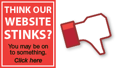 Think Our Website Stinks?