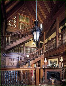 Ivy Lodge Gothic Foyer Newport Victorian Mansion Foyer