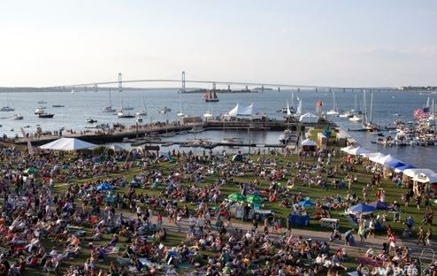 Folk Fest Harbor View