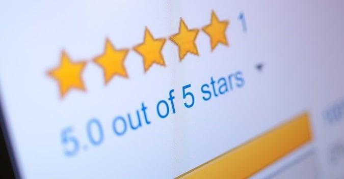 Five Star Reviews Smaller