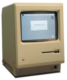 A photo of the Mac Classic