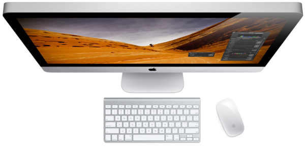 Photo of an iMac