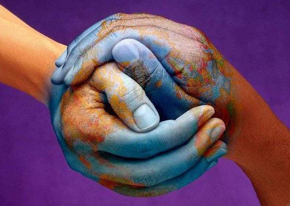 holding the world in our hand