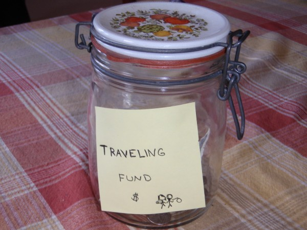 jar for donations