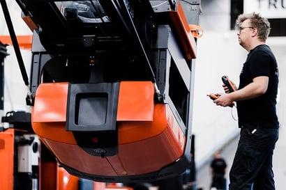 toyota truck rekonditioneras av tekniker