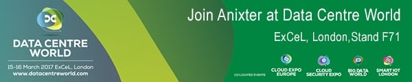 Join Anixter at Data Centre World