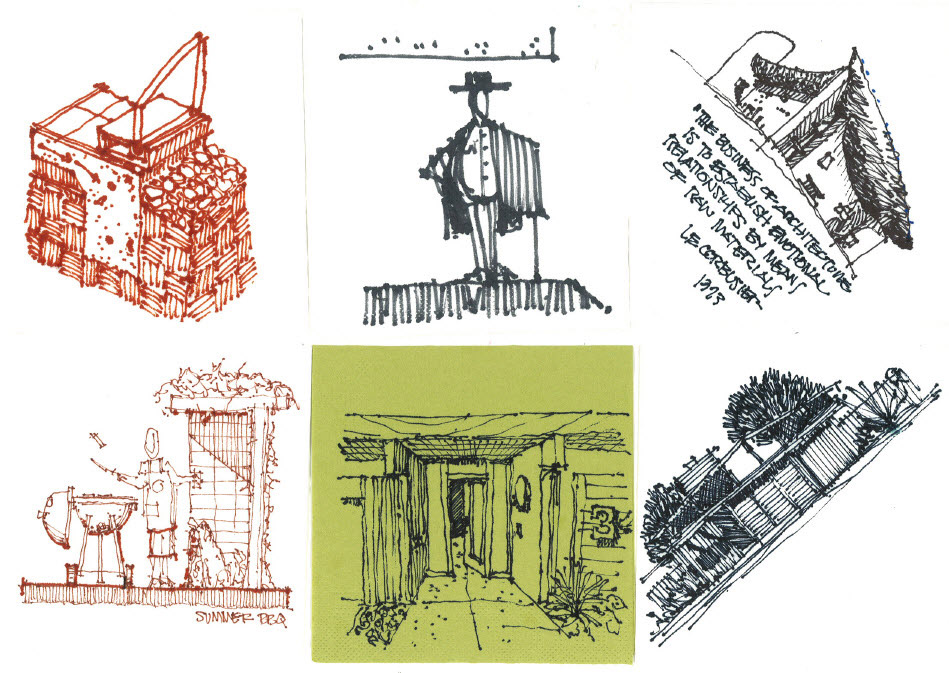 Landscape Architectural Sketches Architecture Sketches by