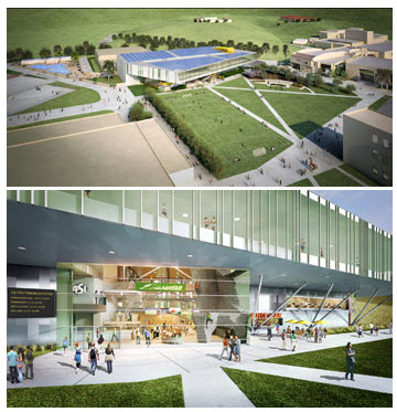 Sustainable design firm reaches 100 LEED designed projects that span California's schools, universities and corporate facilities.