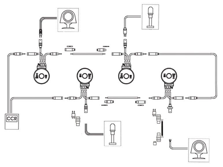 Constant current series circuit diagram