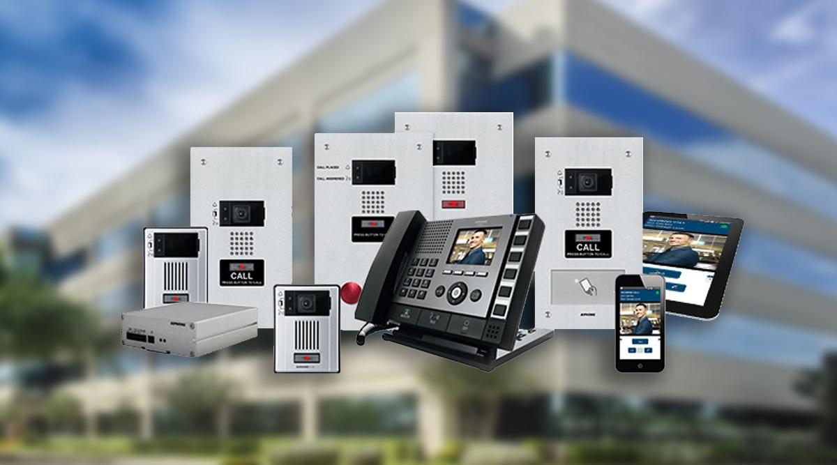 intercom entrance systems hardware