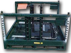 Material Handling Automotive sunroof transport.