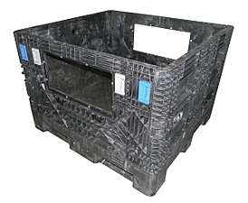 48_x_45_x_34_Collapsible_Container_with_Custom_Polycarbonate_Window