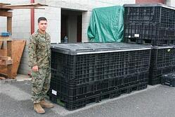 Custom Plastic Container Built for Military Application