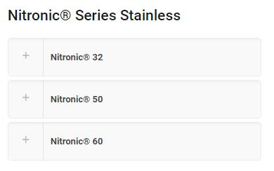 The Difference Between Nitronic 50 and Nitronic 60