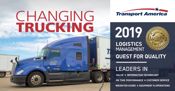 Transport America wins 2019 Quest for Quality Award