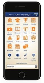 Pepperdine Mobile App