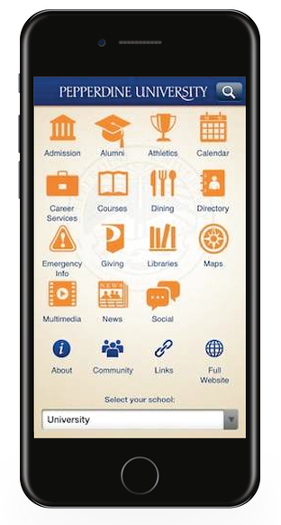 Pepperdine Mobile App