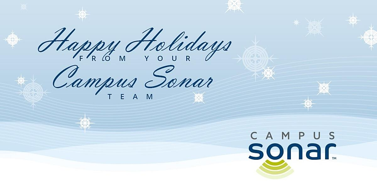 Happy Holidays from Campus Sonar