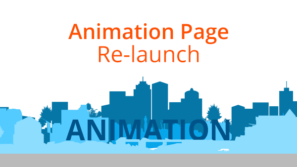 Animation Page Re-launch