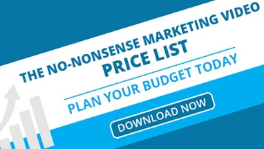 The no-nonsense marketing video price list