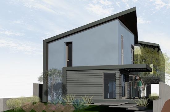 vernon ave residence modern spec house architects venice